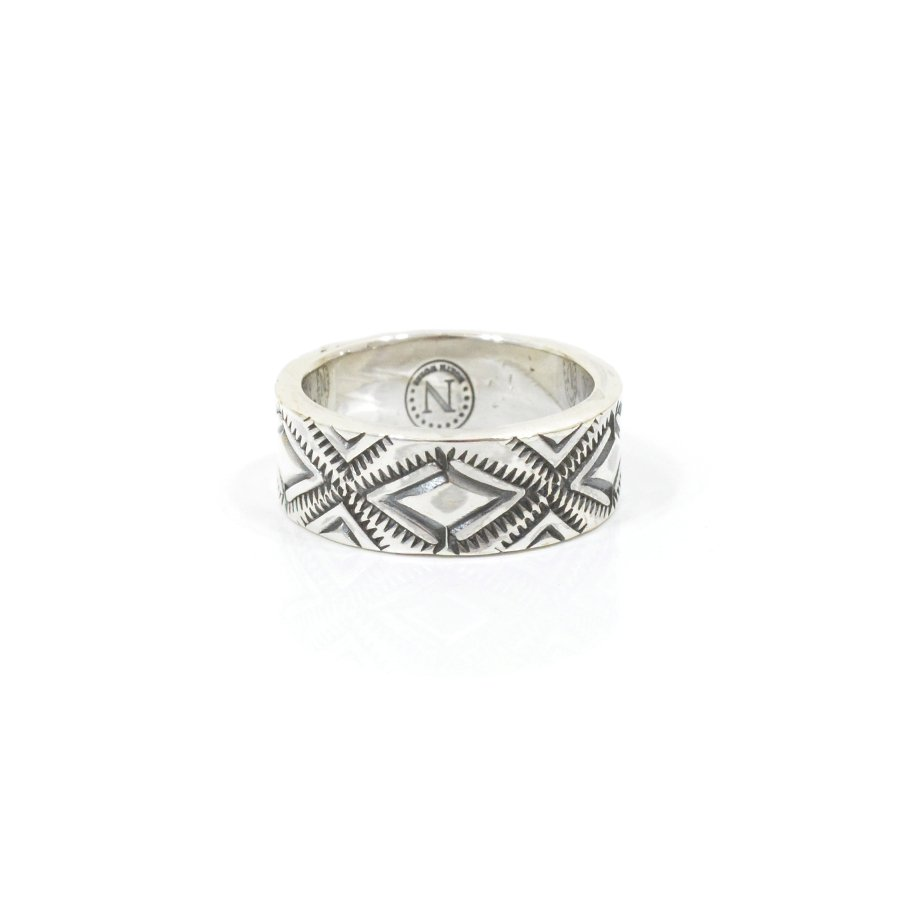 NORTH WORKS W-052 900Silver Stamp Ring