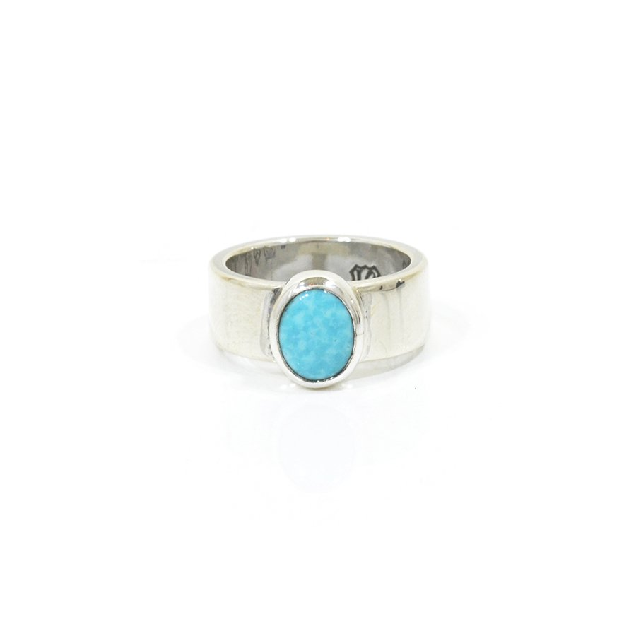 NORTH WORKS W-028 900Silver Turquoise Ring