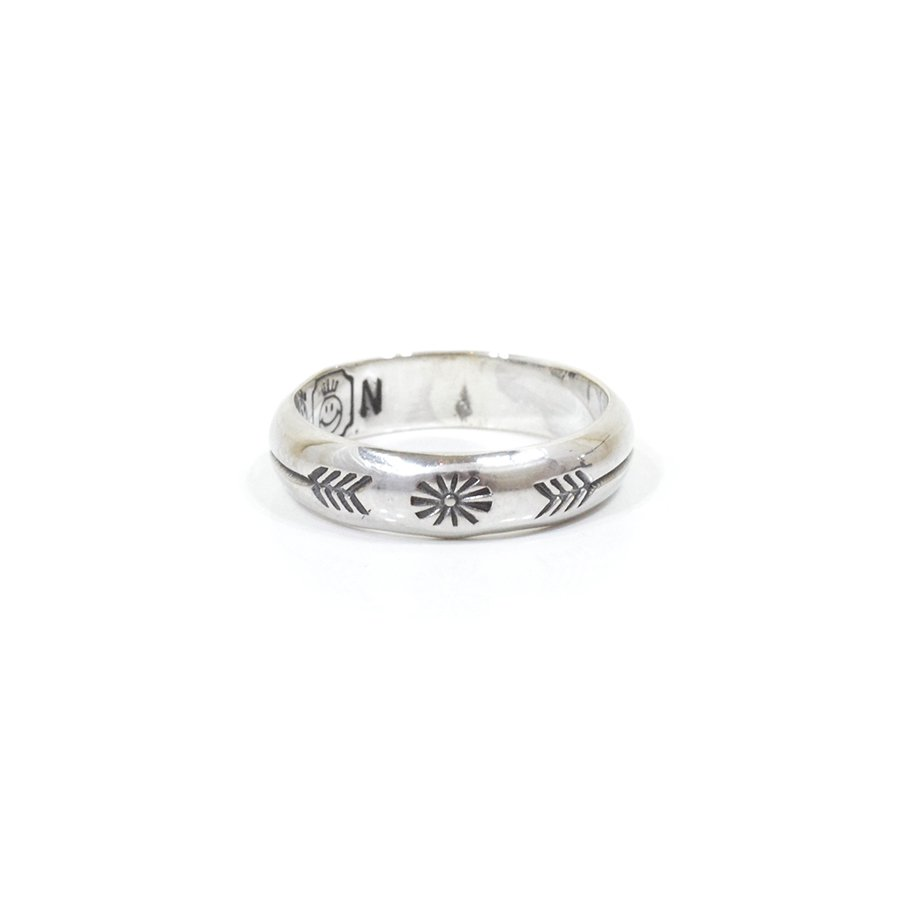 NORTH WORKS W-024 900Silver Stamp Ring