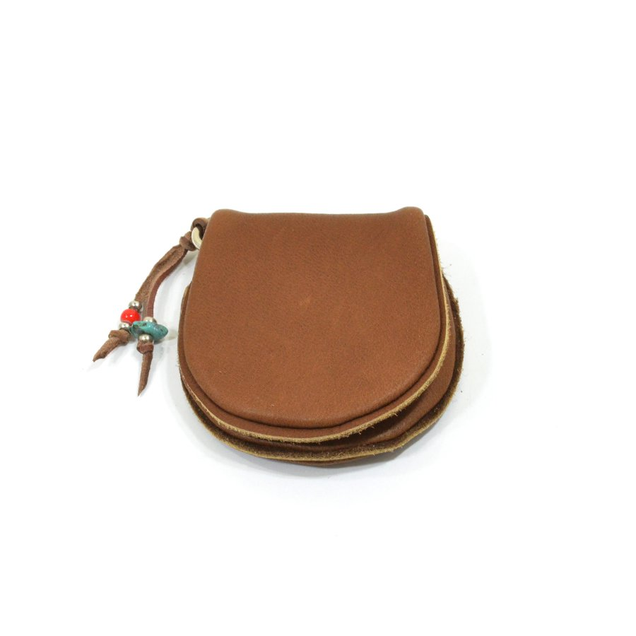 Sunku SK-133 BROWN DEER LEATHER COIN PURSE