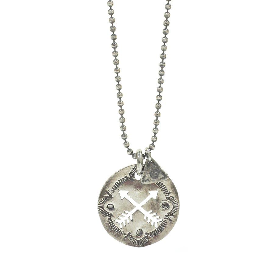 Sunku SK-095 Cut Plate Necklace