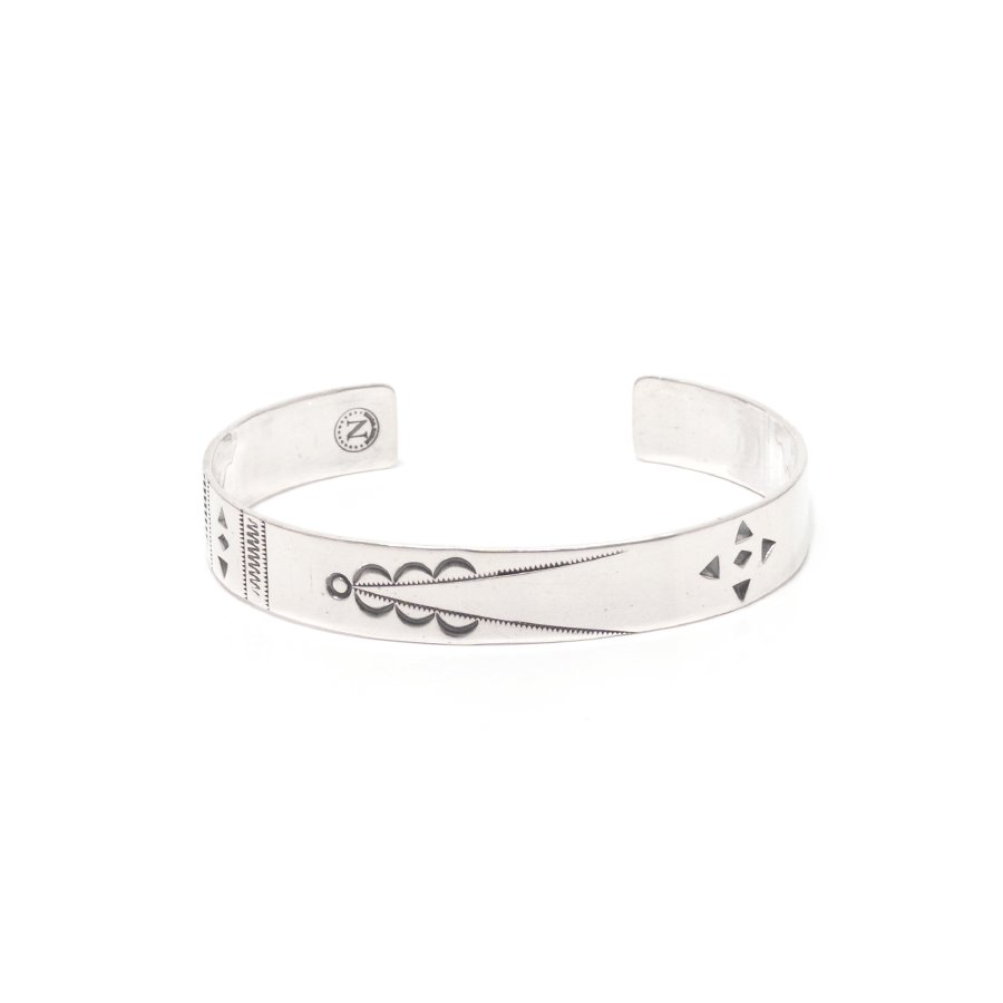 NORTH WORKS W-314 Stamped Bangle