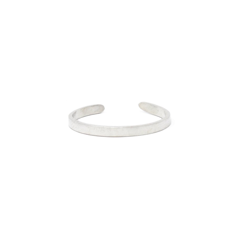 20/80 AR002 STERLING SILVER ID RING 2mm width