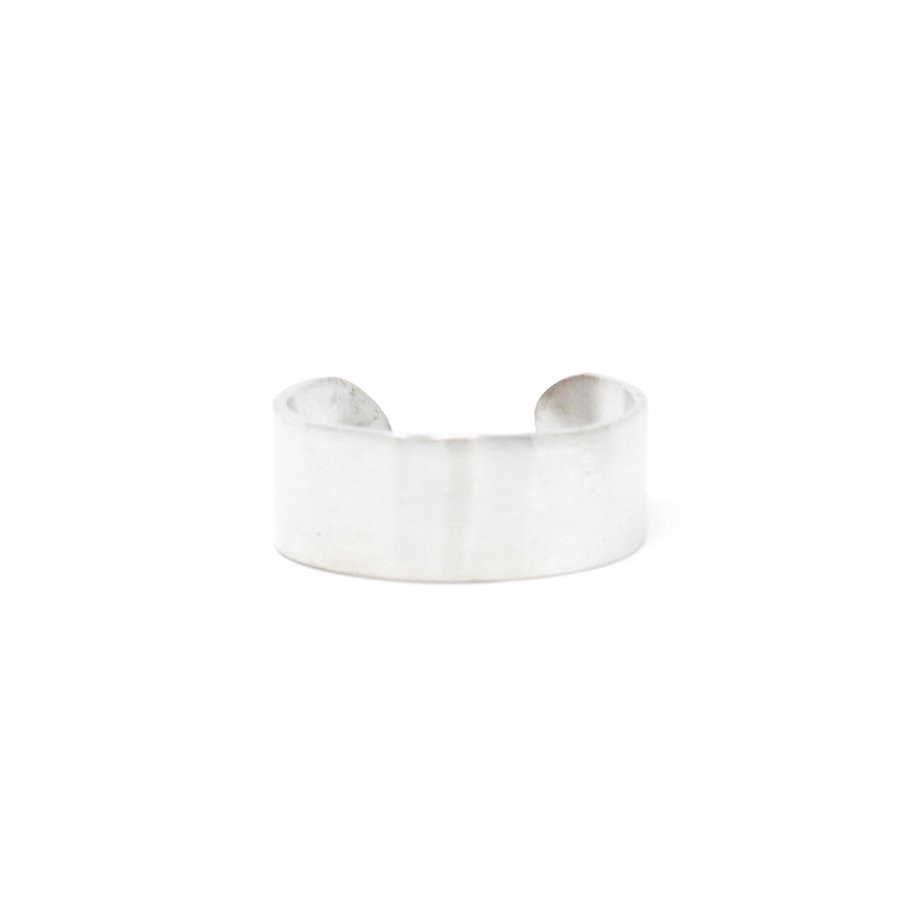 20/80 AR004 STERLING SILVER ID RING 8mm width