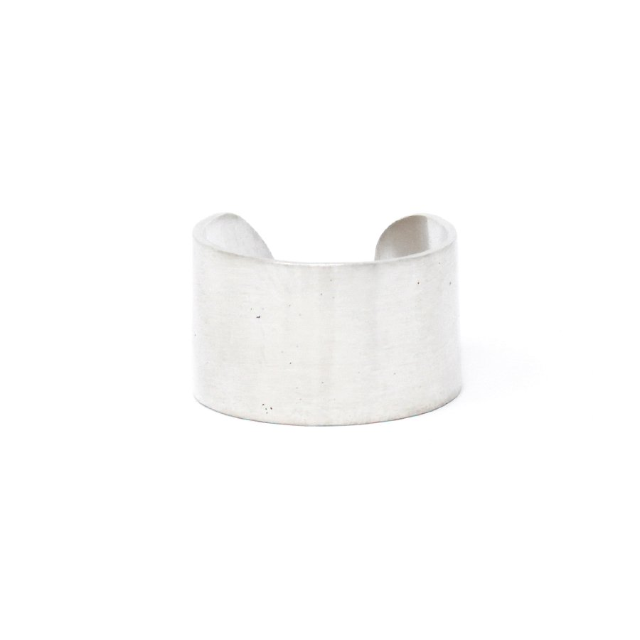20/80 AR005 STERLING SILVER ID RING 13mm width