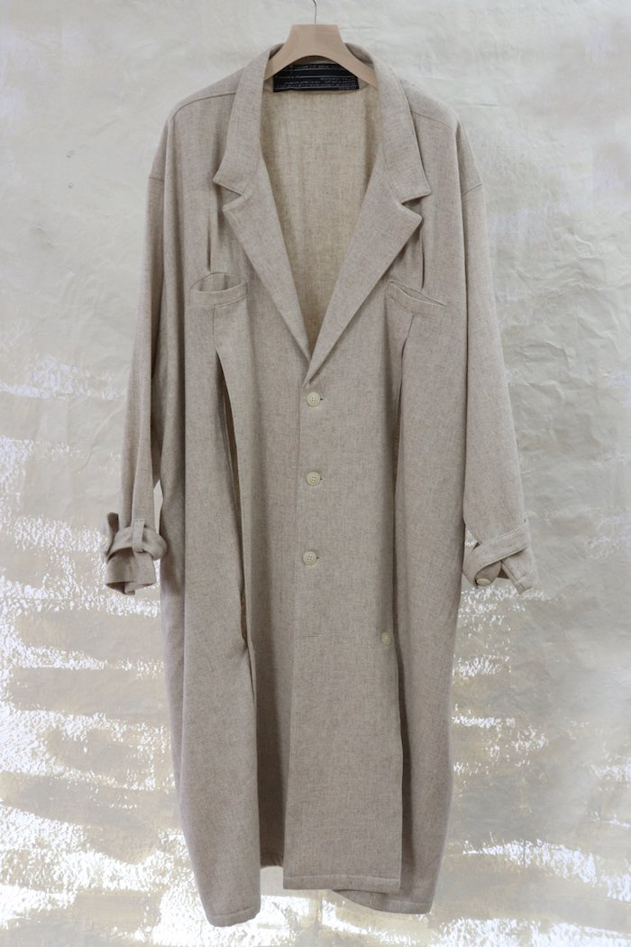 fabrics interseason archive 【Slash coat】