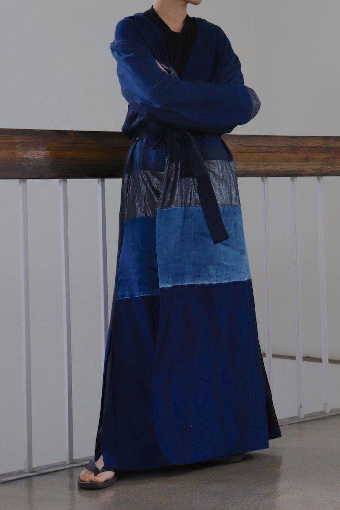 fabrics interseason archive 【 Patchwork coat 】