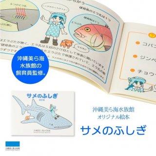 沖縄美ら海水族館オリジナル絵本 サメのふしぎ
