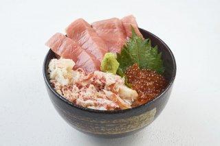 【送料無料】豊洲海鮮丼 贅沢セット 4〜5人前 うに いくら マグロ