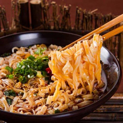 阿寛重慶小面−麻辣味500g(100g×5食)