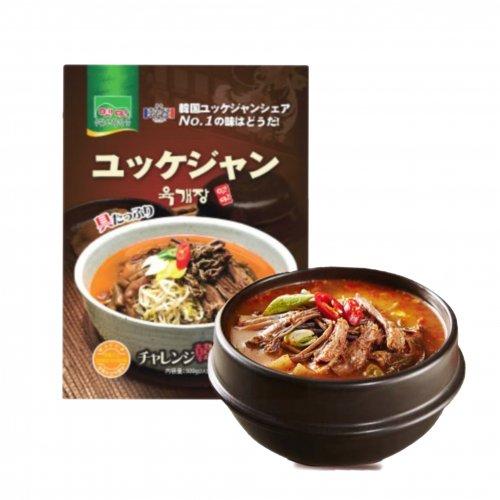 【韓国食材】故郷ユッケジャンスープ