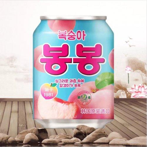 おろし桃ジュース(缶)238ml