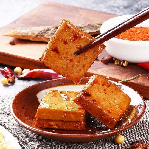 【中華豆干】好巴食味付け素肉−麻辣味180g