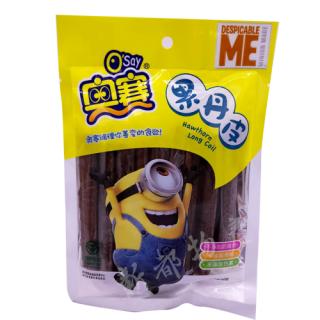 【サンザシお菓子】奥賽果丹皮150g