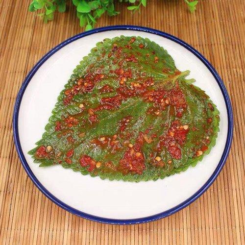 【韓国風味】センピョ−えごまの葉缶詰70g