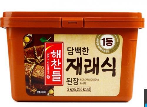 【韓国味噌】ヘチャンドル味噌3kg