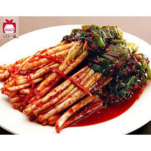 【三口泡菜】香葱泡菜−ネギキムチ415g