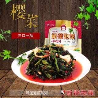 【三口泡菜】桜菜泡菜−ヨンチェキムチ415g