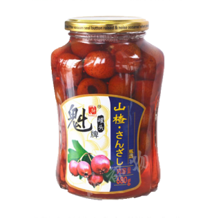 魁牌山査罐頭(サンザシ缶詰)680g