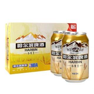 ハルビンビール小麦王330ml(24缶入り)