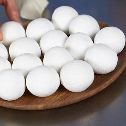 【冷凍】湯圓大王−胡麻小湯圓300g(約30個入り)
