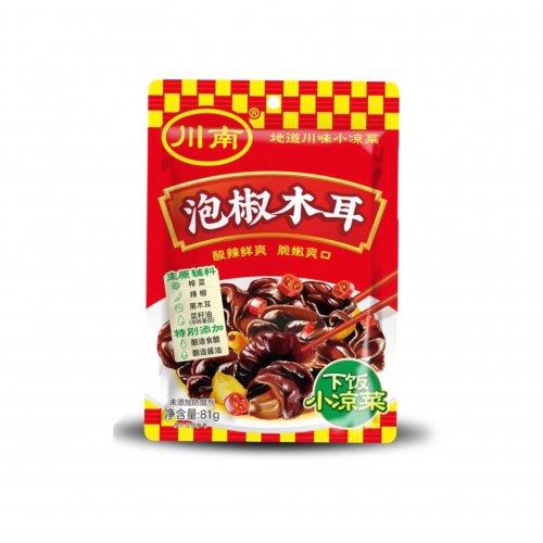 川南泡椒木耳(木耳の味付け)81g