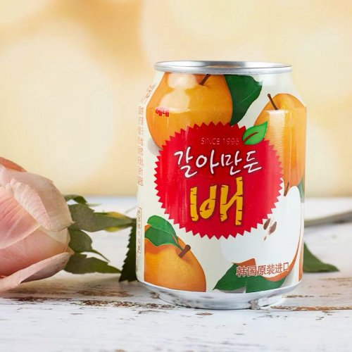 おろし梨ジュース(缶)238ml