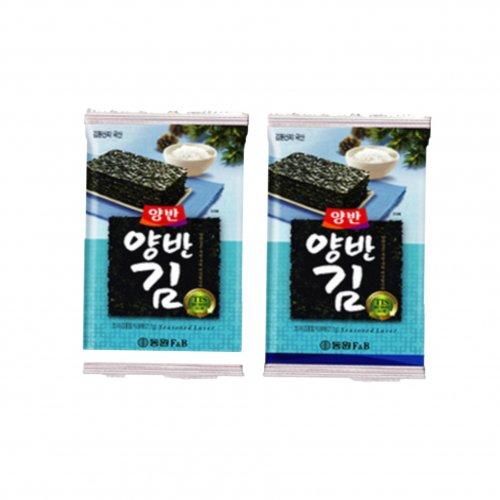 【韓国のり】ヤンバンお弁当用のり(8パック入り)
