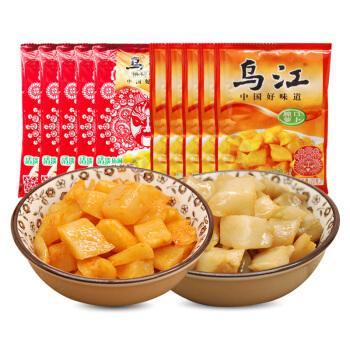 烏江搾菜セット(脆口蘿蔔150g*2+脆口搾菜 150g*2)