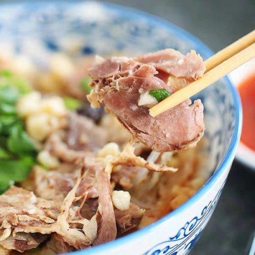 劉一泡西安羊肉泡莫(三倍肉量)370g