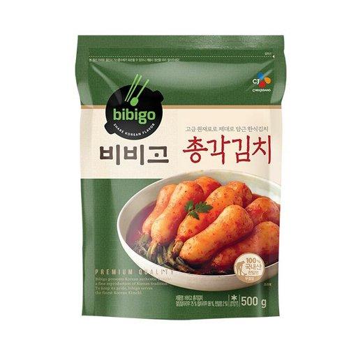 【韓国風味】Bibigoチョンガクキムチ500g