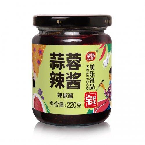 美楽蒜蓉辣醤220g