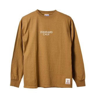 STANDARD CALIFORNIA スタンダード カリフォルニア Heavyweight Long Sleeve T with Logo
