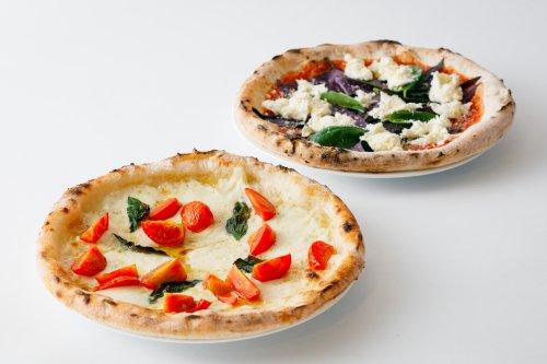 牡丹の冷凍ピザ紅白2枚セット