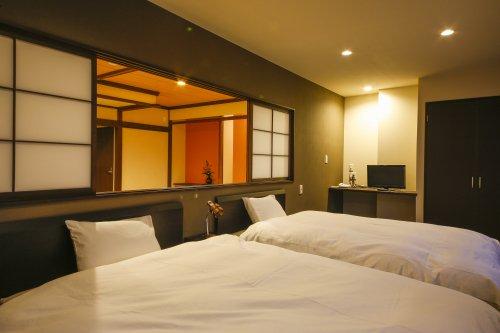【ホテルききょう】露天風呂付き客室