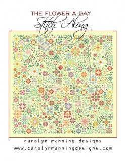 THE FLOWER A DAY STITCH ALONG