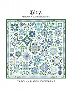 BLUE - FLOWER A DAY