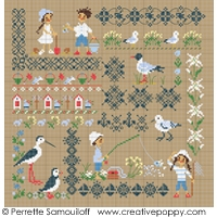 SEASIDE MOTIF SAMPLER