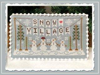 SNOW VILLAGE 1- BANNER