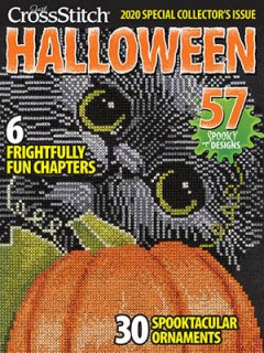<img class='new_mark_img1' src='https://img.shop-pro.jp/img/new/icons1.gif' style='border:none;display:inline;margin:0px;padding:0px;width:auto;' />JUST CROSSSTITCH HALLOWEEN 2020 (米雑誌)