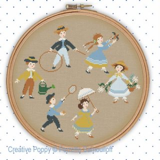 <img class='new_mark_img1' src='https://img.shop-pro.jp/img/new/icons1.gif' style='border:none;display:inline;margin:0px;padding:0px;width:auto;' />VICTORIAN CHILDREN PLAYING IN SUMMER お取り寄せ