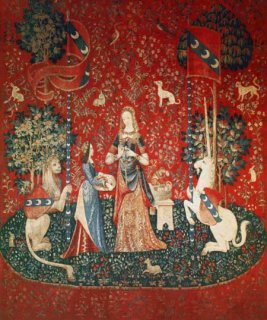 LADY WITH UNICORN : SENSE OF SMELL<img class='new_mark_img2' src='https://img.shop-pro.jp/img/new/icons55.gif' style='border:none;display:inline;margin:0px;padding:0px;width:auto;' />