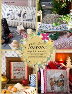 LES QUATRE SAISONS (季節のクロスステッチ)2割引!!<img class='new_mark_img2' src='https://img.shop-pro.jp/img/new/icons20.gif' style='border:none;display:inline;margin:0px;padding:0px;width:auto;' />