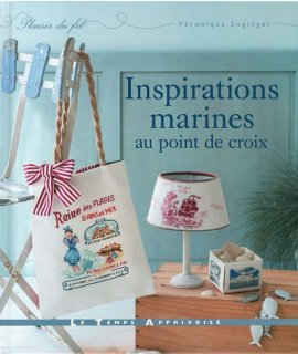 INSPIRATIONS MARINES au point de croix  2割引!!<img class='new_mark_img2' src='https://img.shop-pro.jp/img/new/icons20.gif' style='border:none;display:inline;margin:0px;padding:0px;width:auto;' />
