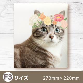 デザインキャンバス-花冠コラージュ-【F3】