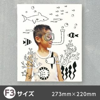 デザインキャンバス-線画イラスト-【F3】