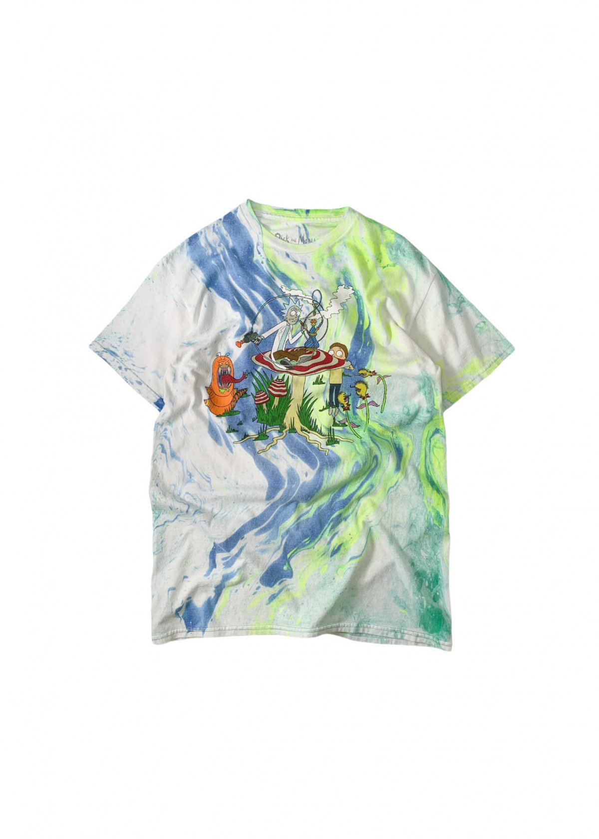 """""""Rick and Morty"""" Dyeing tee"""