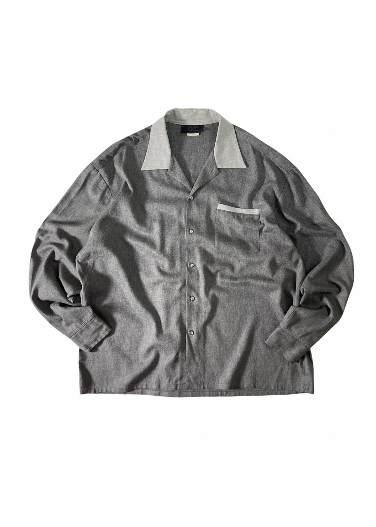 Vintage Wool Mix wide Shirt