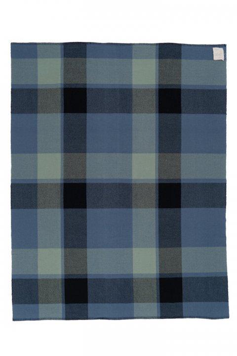 Shetland Check Blanket