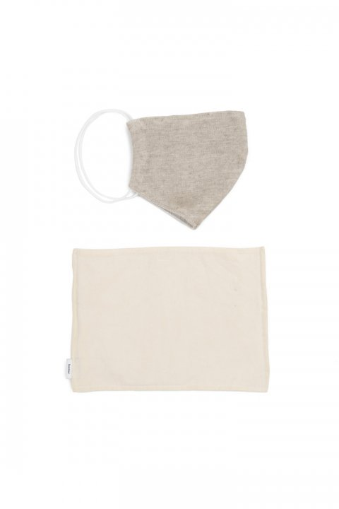 Linen Cotton Mask + Mask Case 〈EC Exclusive〉